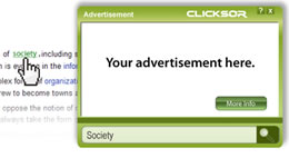 Inline ads? Clicksorrow