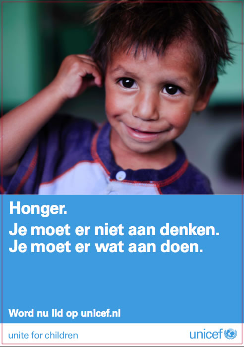 Word lid op Unicef - de webcare