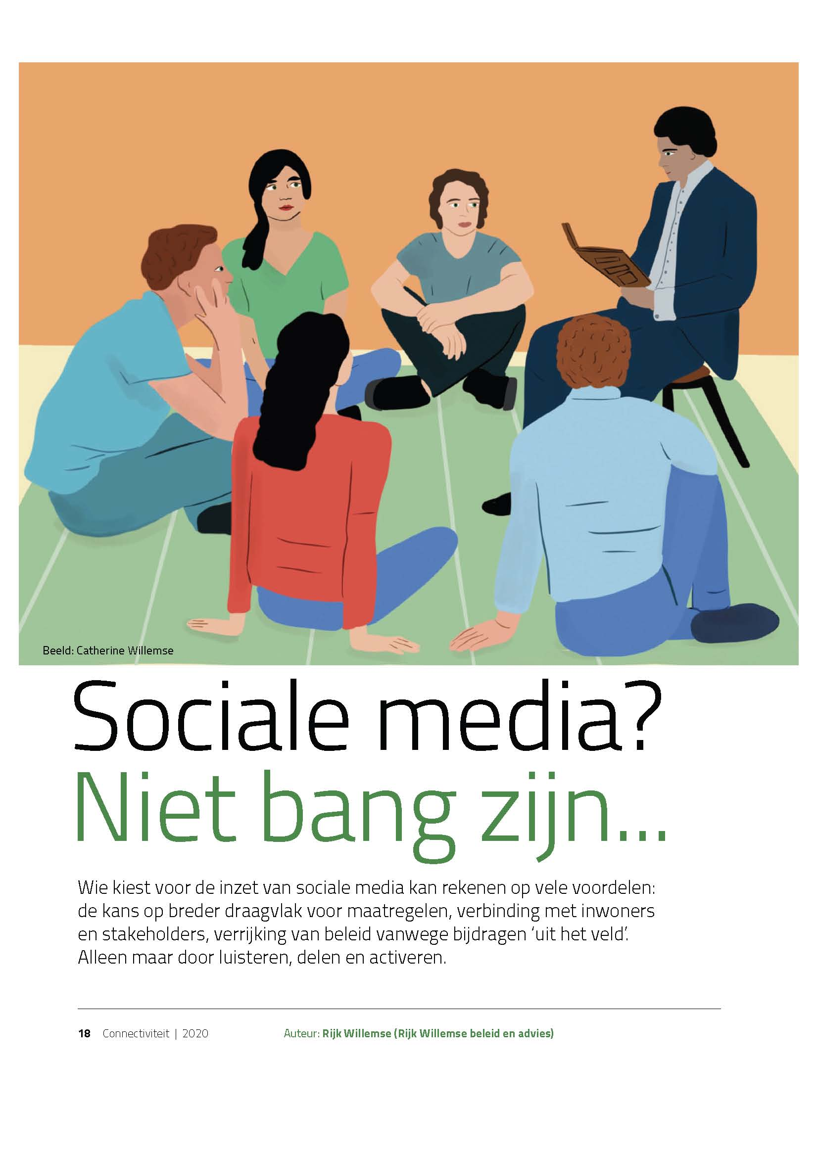 Artikel Rijk Willemse Social media Page 1