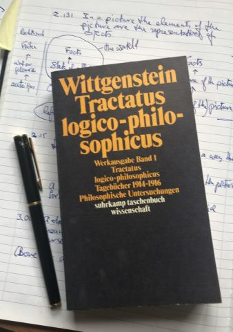tractatus logico-philosophicus book